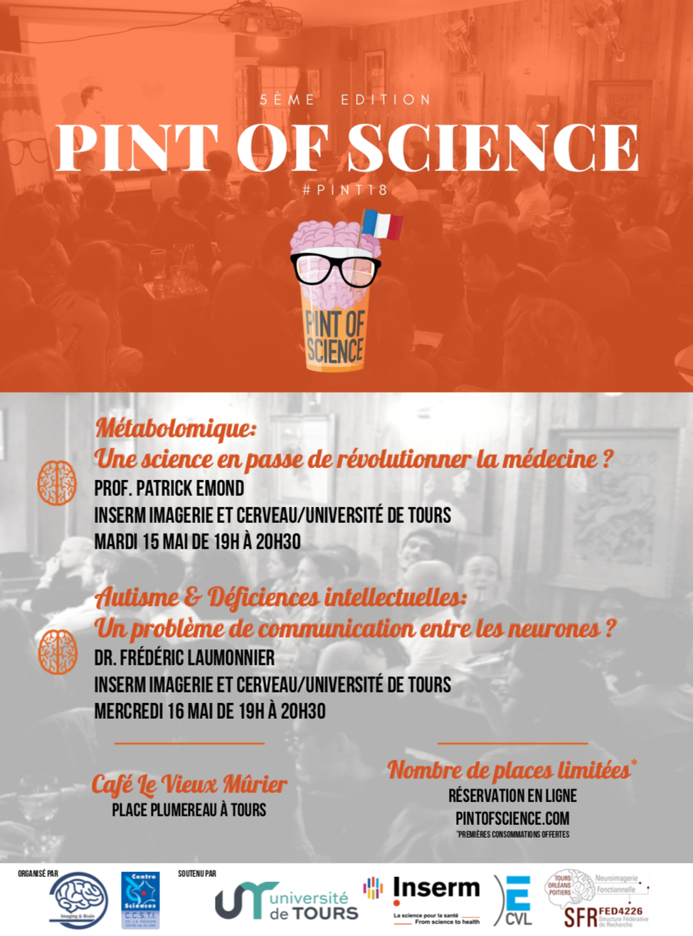 Affiche - Pint of Science